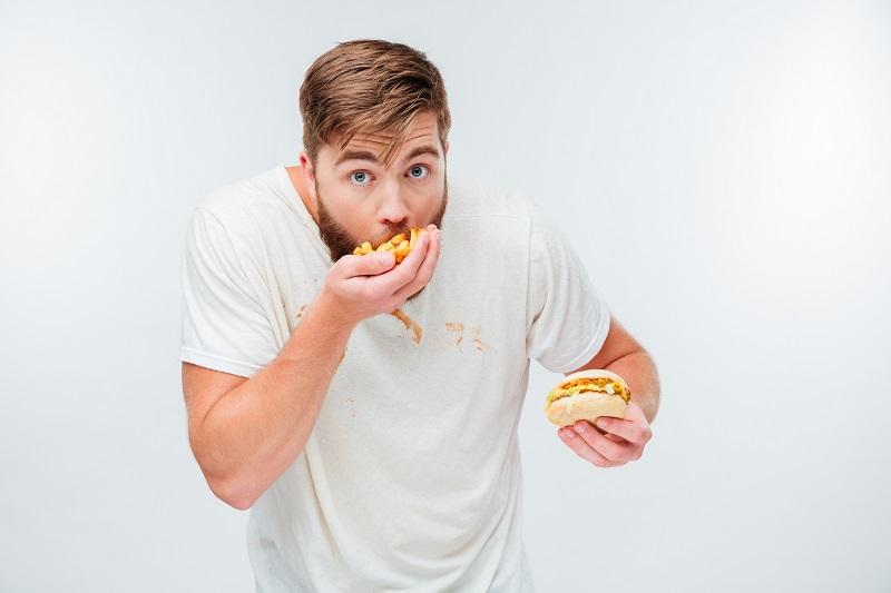 senność po jedzeniu