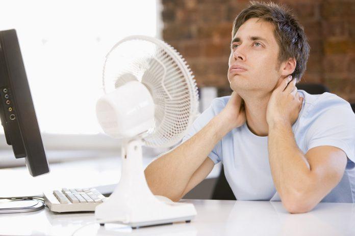 temperatura w pracy